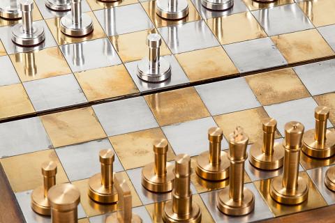 chess_set_brass_aluminum_homemade_board_game_analog_games_01