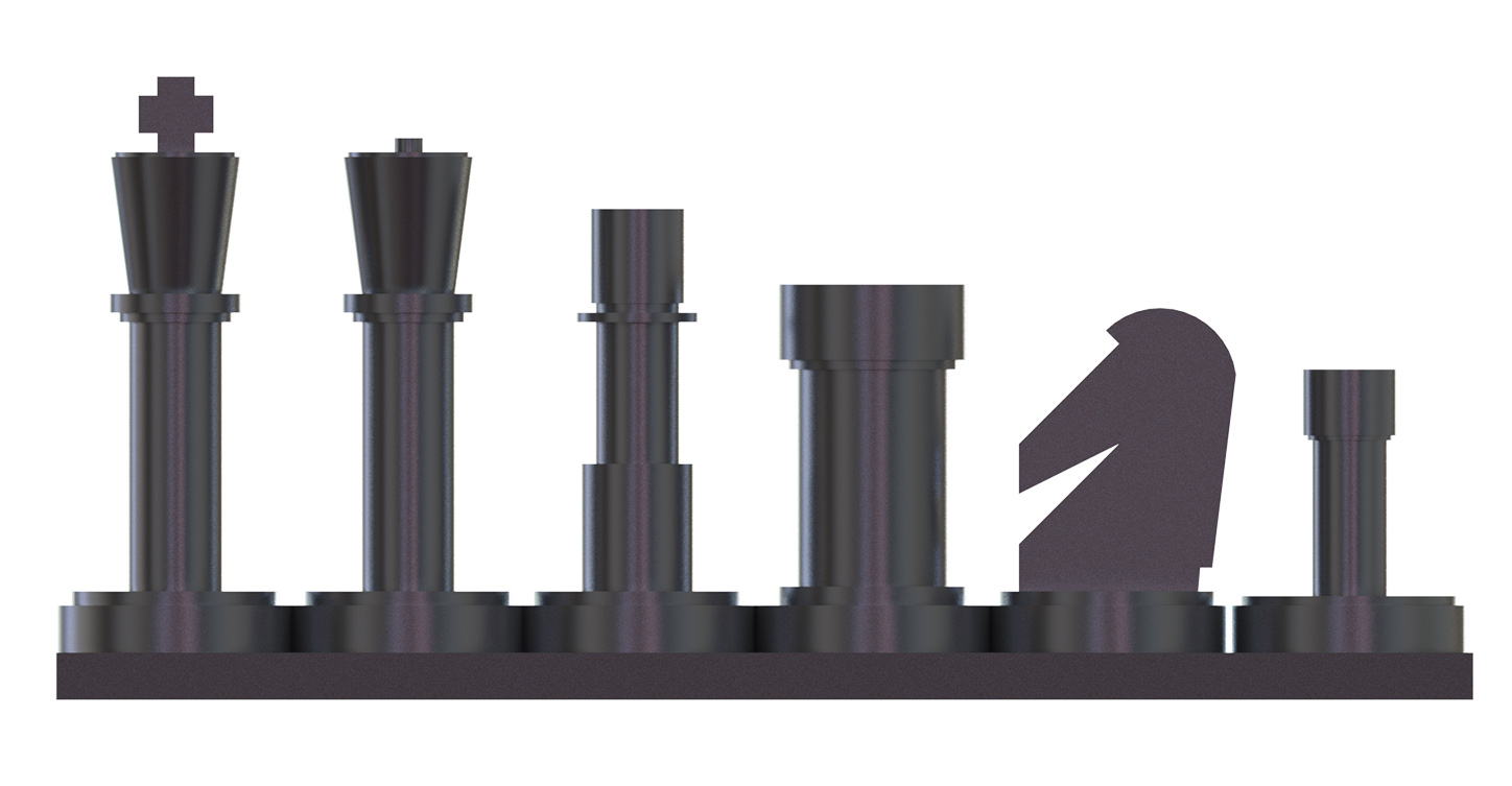 projects ideas metal chess pieces. After having quickly designed my pieces in design software SolidWorks  I ventured into the workplace started simple by beginning with pawns Chess set brass and aluminum Analog Games