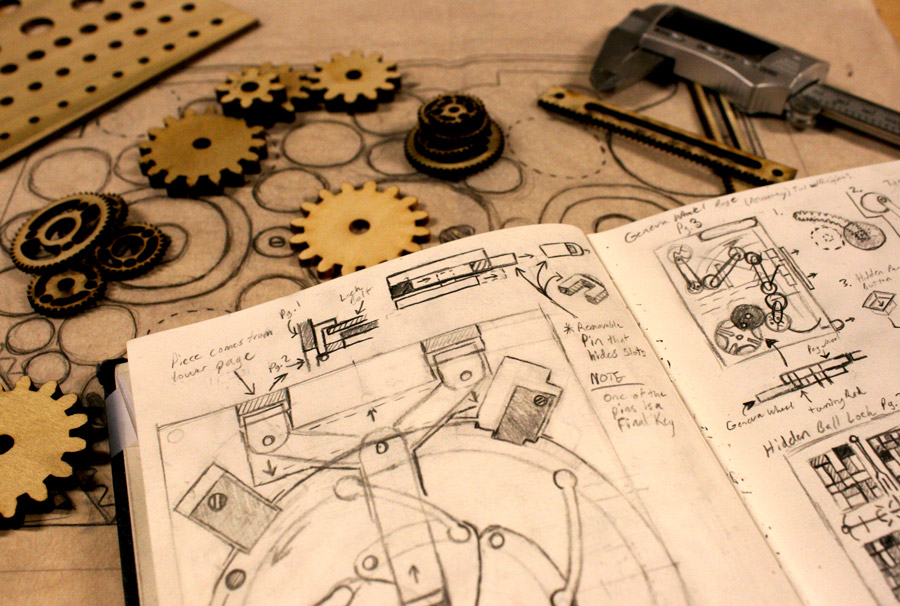codex_puzzle_book_kickstarter_lasercut_lasercutting_cad_board_card_game_analog_games_18
