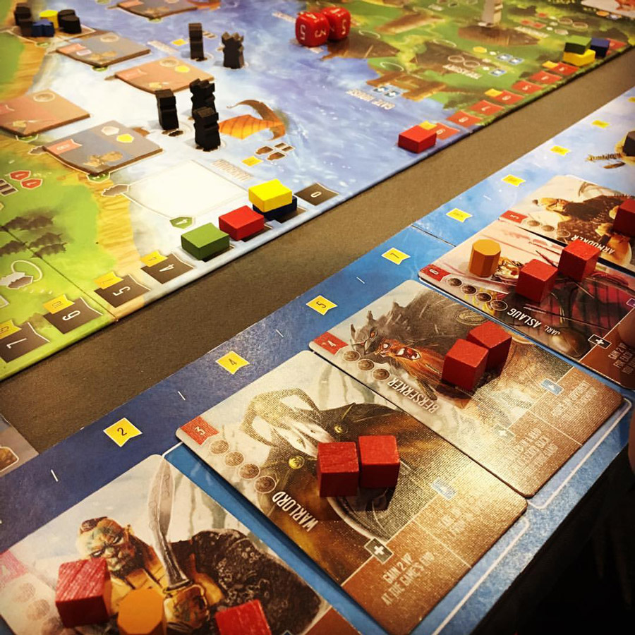 'analog games' from the web at 'http://www.analoggames.com/wp-content/uploads/2016/11/shem_phillips_kickstarter_raiders_of_the_north_sea_viking_trilogy_board_card_boardgames_tabletop_indie_the_mico_artwork_illustrator_game_analog_games_07.jpg'