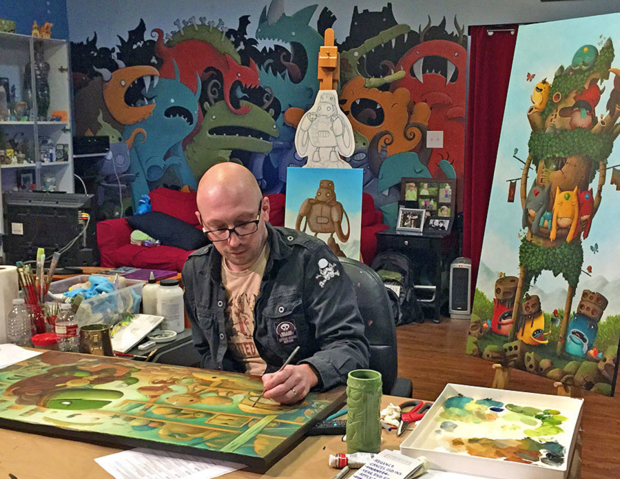 Board Game Artists 3 Justin Hillgrove Analog Games