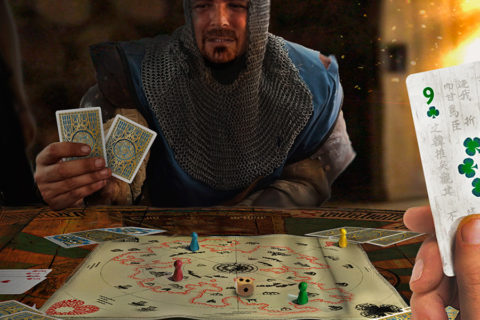 ' ' from the web at 'http://www.analoggames.com/wp-content/uploads/2017/03/the_right_of_kings_card_board_game_01-480x320.jpg'
